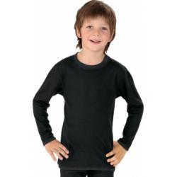 Verbandshirt kind zwart lange mouw 98-104