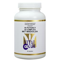 Hi potency B complex & mineralen