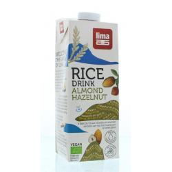 Rice drink hazelnoot amandel