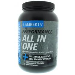 All in one whey proteine aardbei