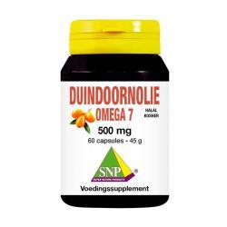 Duindoorn olie omega 7 500 mg halal-kosher