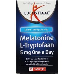 Melatonine L-tryptofaan 5 mg