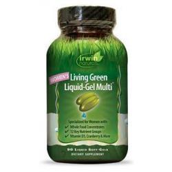 Living green liquid gel multi for women
