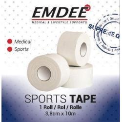 Sport tape 3.8 cm x 10 m wit
