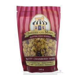 Muesli nutty cranberry