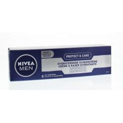 Men protect & care scheercreme hydraterend