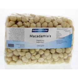 Macadamia ongebrand raw