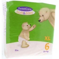 Luiers soft & easy XL nr 6 16+ kg