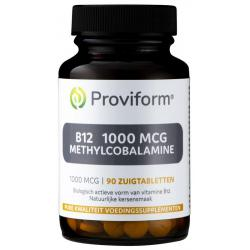 Vitamine B12 1000 mcg methylcobalamine