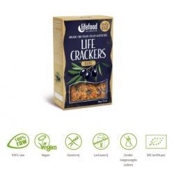 Life crackers olijf