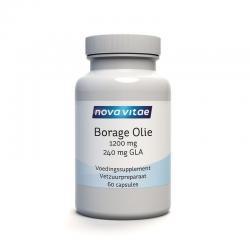 Borage olie 1200 mg GLA 240 mg