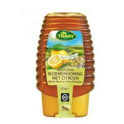 Bloemenhoning met citroen knijpfles bio