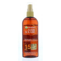 Ambre solaire gold touch oil SPF 15
