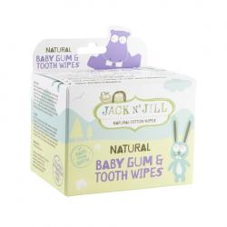 Natural baby gum & tooth wipes