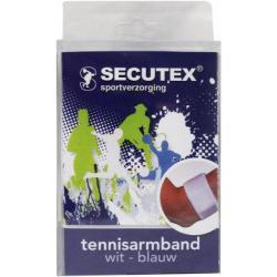 Tennisarmbandage blauw