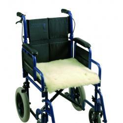 Schapenvacht voor rolstoel 46 x 41