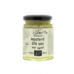 Mosterd dille saus agave
