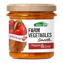 Farm vegetables smooth paprika & chili