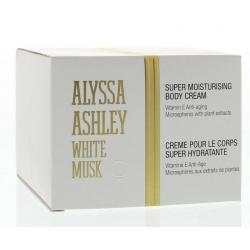 White musk body cream