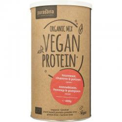 Vegan protein mix pumpkin sunflower hemp cacao