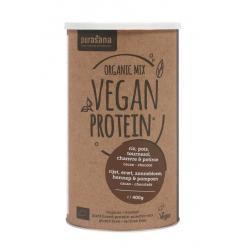 Vegan protein mix pumpkin sunflower hemp cocoa cho