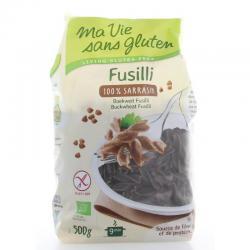 Fusilli boekweit bio - glutenvrij