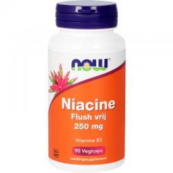 Niacine flush vrij 250 mg