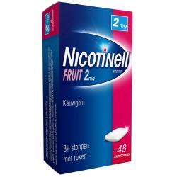 Kauwgom fruit 2 mg