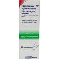 Neusdruppels HTP Xylometazoline HCl 1 mg/ml