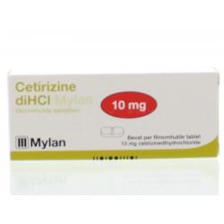 Cetirizine DIHCL 10 mg