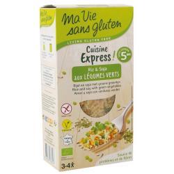 Rijst express gekookt soja...
