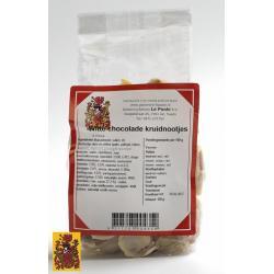 Kruidnoot chocolade wit