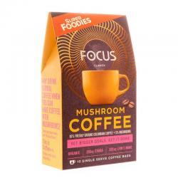 Mushroom coffee focus 10...