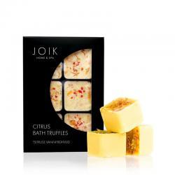 Bath truffles citrus