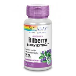 Bilberry blauwe bosbes 160 mg
