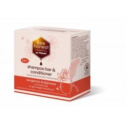 Shampoobar bergamot & bijenwas
