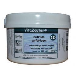 Natrium sulfuricum VitaZout Nr. 10